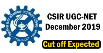 CSIR NET Dec 2019 Cutoff