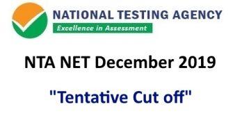 NET December 2019 Cutoff