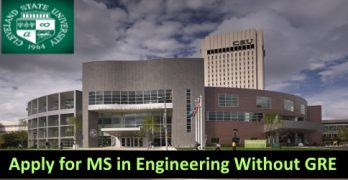 Study Engineering In USA Without GRE