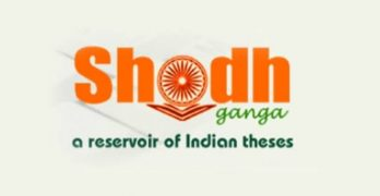 Shodhganga Online Portal for Research Scholars