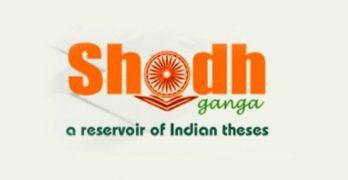 Shodhganga Online Portal for Research Scholars