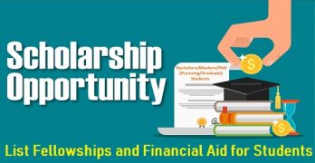 Fellowships and Financial Aid for Students