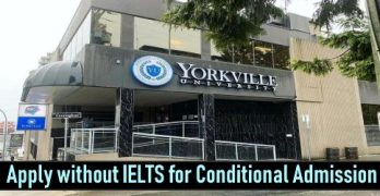 Apply Without IELTS In Canada For BBA