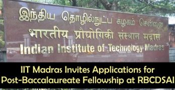 Post-Baccalaureate Fellowship at RBCDSAI
