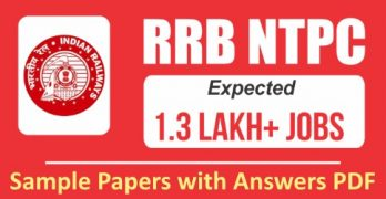 RRB NTPC Previous Papers with Answers PDF