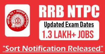 RRB NTPC 2020 Exam Dates