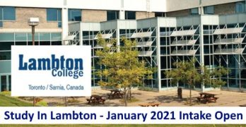 Lambton College January 2021 Apply