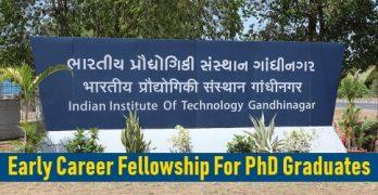 Early Career Fellowship For PhD Graduates