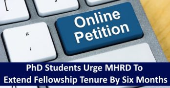 Online Petition: Extend Fellowship Tenure by Six Months