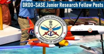 DRDO Recruitment For JRF Posts
