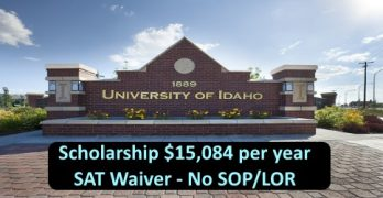 Study In USA with Scholarship 15,000 USD