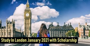 Study In London January 2021