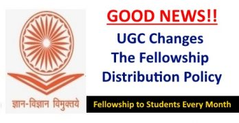 UGC Changes The Fellowship Distribution Policy